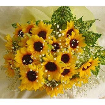 ひまわり の花束
