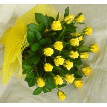 父の日フラワーギフト 黄色いバラの花束